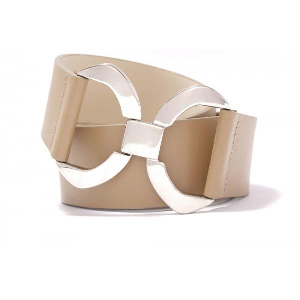 Kožený pásek s originální sponou - FALL (nastavitelný)